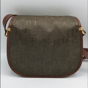 Gucci Bags - Authentic Gucci Brown Leather & Canvas Crossbody❤️
